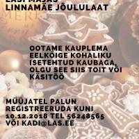 Jõululaada eelinfo